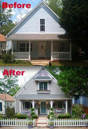 Dengan renovasi rumahnya jadi terang nggak gelap lagi.
