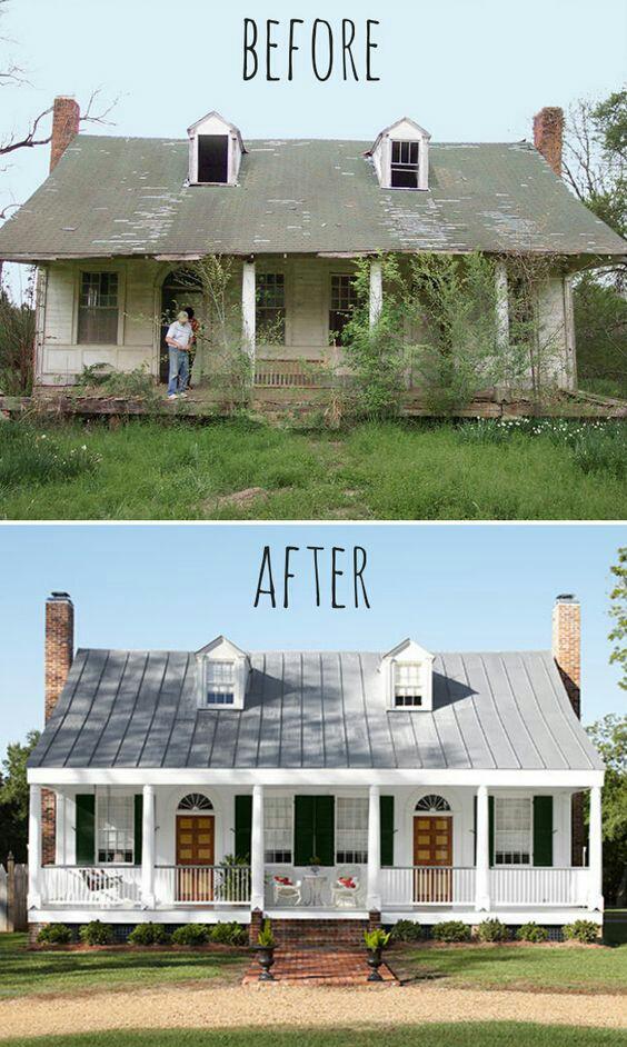 Kayak rumah mau rusak, setelah direnovasi rumah ini jadi keren dan kekinian.