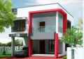 Desain Rumah Mungil Asri dan Artistik