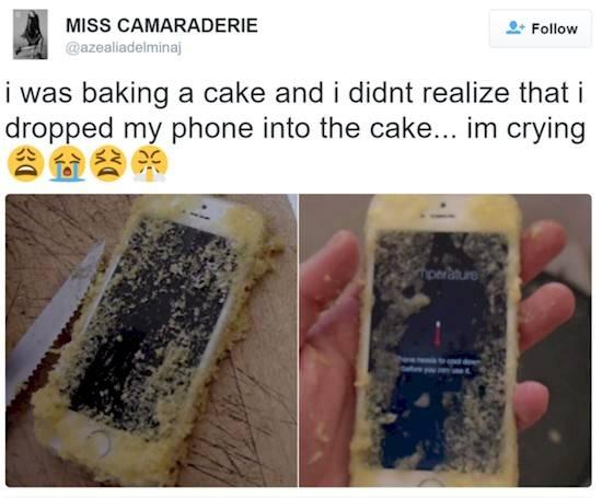 Nah lo, ini gimana ceritanya ya smartphone mahal kok bisa sampai kena goreng gitu?.