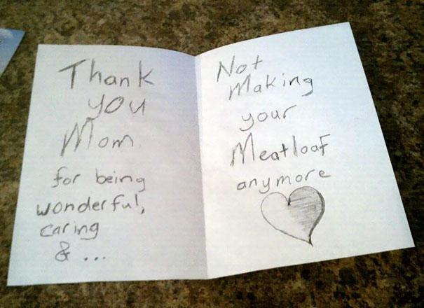 Sayang sama ibu tapi nggak suka masakan daging sapi buatan ibu.