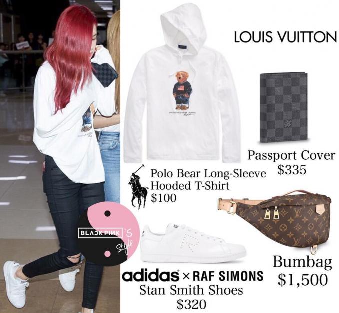 yang terakhir menggunakan bumbag dari Louis Vuitton seharga Rp. 21,8 juta.