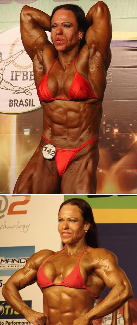 Dari Brasil ada Ana Claudia Pires. Dia tercatat pernah memenangkan 8 kali kejuaraan binaraga di Rio de Janeiro, 4 kali juara nasional binaraga Brasil, dan 2 kali di tingkat Amerika Latin. Ana menempati urutan 8 dalam peringkat dunia Pulsker.