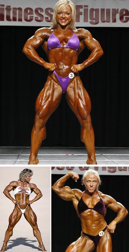 Sementara itu Lisa Aukland pernah memenangkan ajang binaraga '2008 IFBB Atlantic City Pro Womens Bodybuilding Championships' yang diselenggarakan di Atlantic City, New Jersey.