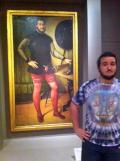 Ekspresi Seseorang Saat Mengetahui Lukisan Mirip Dirinya di Museum