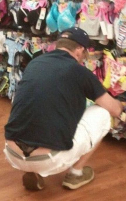 Lho masnya pake celana dalam mbaknya.