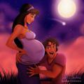 Seperti Ini Kalau Seandainya Para Putri Disney Jadi Bumil dan Merawat Bayinya