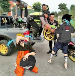 Ini Jadinya Jika Karakter Anime Hidup di Indonesia