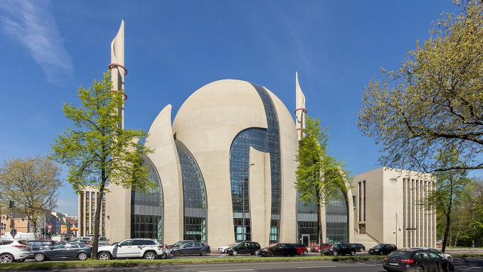 Cologne Central Mosque, Jerman