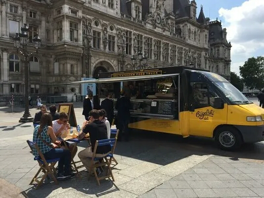 Perancis Di negara ini ritual makan sangatlah dihormati. Dilarang makan sambil berjalan. Hal itu dianggap kasar dan kurang sopan. Bila kamu memveli makanan yang get away maka kamu harus mencari tempat duduk untuk menikmati makananmu.