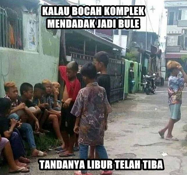 Sering terlihat di negara berkembang.