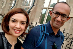 Yuk Intip 5 Kemesraan Najwa Shihab Bareng Suami Saat Liburan Akhir Tahun