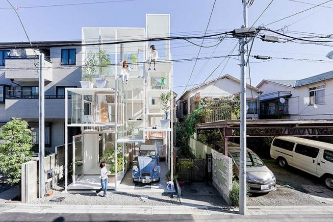 Rumah Transparan di Jepang