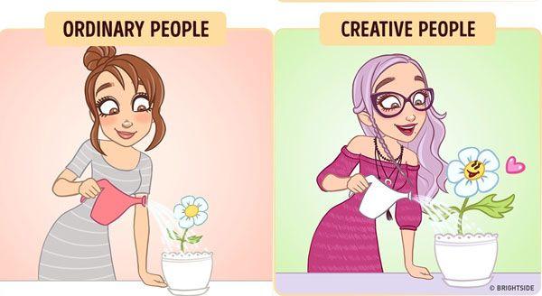 Kalau kalian kreatif, menyiram bunga sekalipun akan menjadi sesuatu yang paling menyenangkan dalam hidup.
