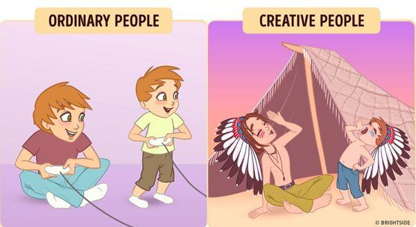 Nih, ditangan orang kreatif main dimana aja pasti jadi lebih seru dan nggak ngebosenin. Yuk, mulai sekarang pertajam kreativitas kita agar hidup jadi makin berwarna dan nggak monoton gitu-gitu mulu.