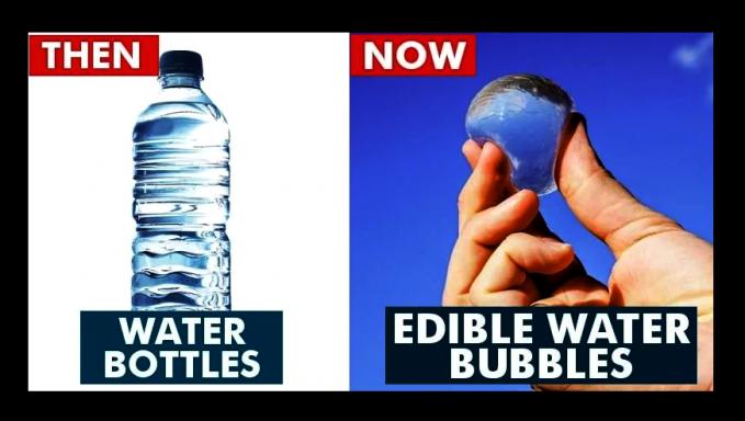 Sampai sekarang sih masih ada ya air mineral pakai botol. Tapi ada pula yang mulai inovatif dengan menciptakan air mineral yang bisa diminum langsung tanpa pakai botol.