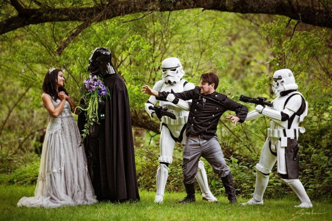 Darth Vader ternyata romantis sekali