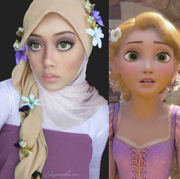 Kok malah keliatan imut Saraswati daripada Rapunzel