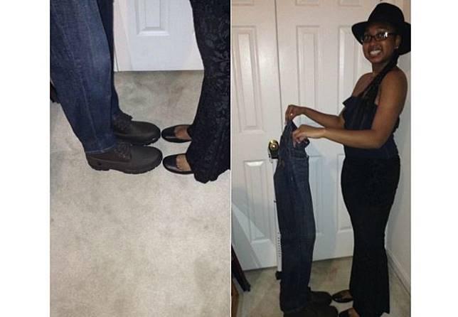 Jangan pernah percaya deh sama pasangan romantis yang suka posting foto sepatu.