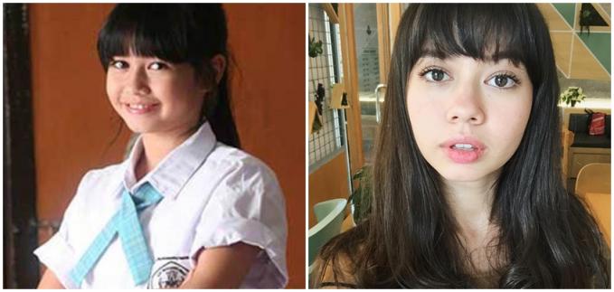 Yuki Kato saat di Heart Series dan sekarang masih sama-sama imut sih.