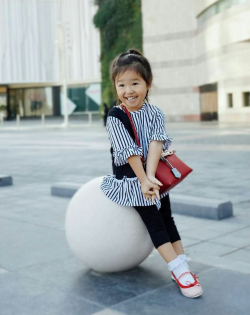 Bergaya Bak Orang Dewasa, Penampilan Thalia Anak Ruben Onsu Ini Stylish Banget!