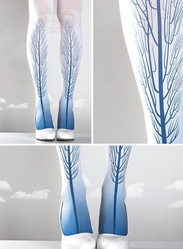 Buat kalian yang suka motif natural, gambar ranting pohon ini bisa jadi pilihan lho.