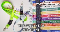 Keren! Jual Tali ID Card Murah Ukuran 2 cm Kait - Tali nametag