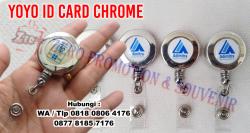 KEREN!!! Jual Yoyo id card silver | Badge Reels