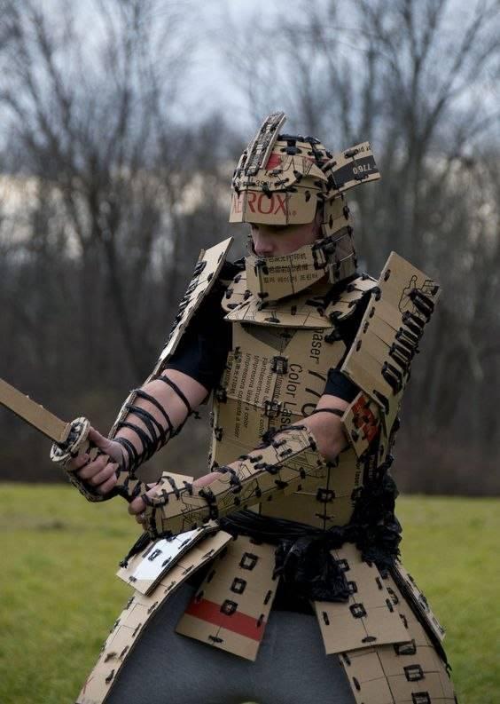 Kostum Pendekar Samuraipun bisa dibuat