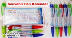 WOW KEREN!!! Souvenir Pulpen Pen Bolpoin Kalender