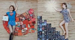 Instagramable Banget .. 10 Kreasi Penataan Buku Ini Bikin Foto Kamu Makin Keren