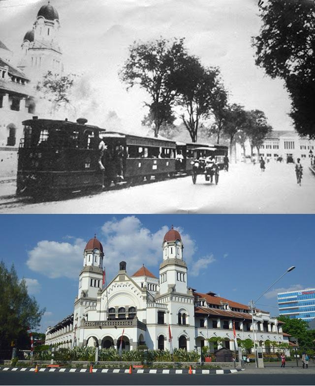 Lawang Sewu Lawang Sewu zaman dahulu digunakan sebagai markas PT KAI yang sebelumnya juga digunakan sebagai kantor NIS pada zaman Belanda. Tapi saat ini Lawang Sewu adalah ikon kota Semarang dan menjadi tempat wisata yang paling diminati di sana.