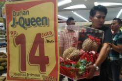 Heboh Durian J-Queen, Harga Jual Per Buahnya Rp 14 Juta!