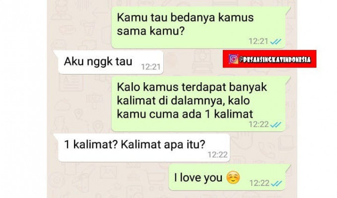 I love you too deh bang.