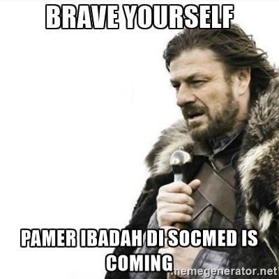Sering terjadi saat Bulan Ramadhan.