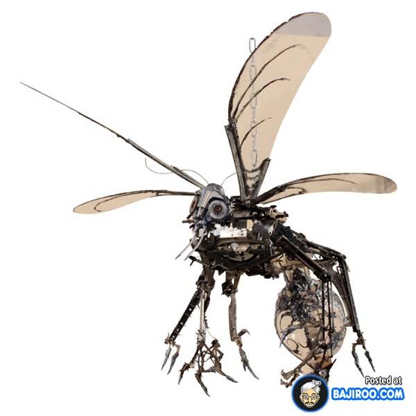Patung lebah ini bisa kalian gantung di langit-langit rumah biar menambah kesan artistiknya gengs.