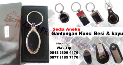 Keren!! Souvenir Gantungan Kunci Besi, Gantungan kunci Logam