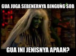 Meme Gokil Hantu Indonesia yang Nggak Nyeremin Malah Bikin Ketawa