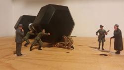Gokil, Seniman Kanada Ini Ubah Miniatur Tentara Jadi Makin Hidup