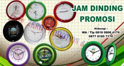 WOW Keren!! Jam dinding promosi - souvenir jam dinding murah