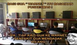 Meme Gokil Curahan Hati Gamers Saat di Warnet dan Rental PS Jaman Dulu