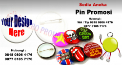Keren!! Jual Pin Promosi | souvenir pin | Gantungan Kunci pin