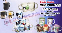 Keren!! Mug Promosi & Souvenir Mug - Cetak Mug Murah