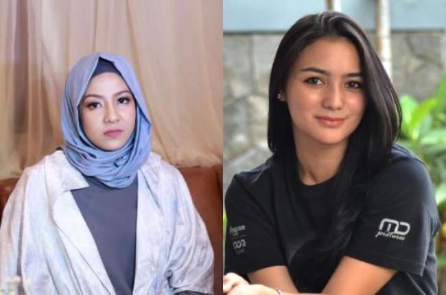 Citra Kirana dan Nathasa Risky Kedua seleb ini sama - sama bersekolah di SMA Islam Harapan Ibu sejak 2008 sampai 2011, dan mereka sudah berteman sejak SMA