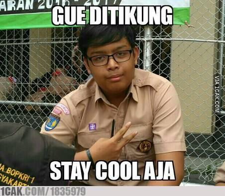 Stay cool aja vroohh!