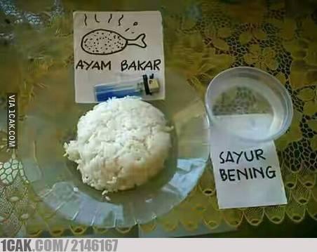 Alhamdulillah, masih bisa makan enak di akhir bulan :D