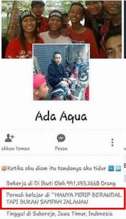 10 Profile Facebook yang Isinya Alay Banget, Ngakak Cuy!