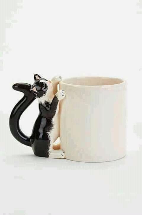 Sepertinya si kucing penasaran sama isi gelasnya nih Pulsker.