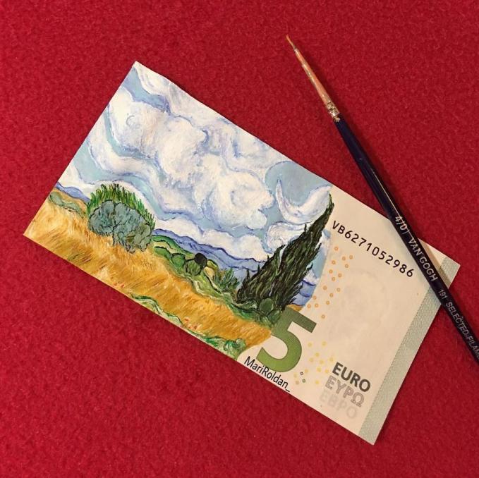 Uang pecahan 5 Euro kalau dikonversikan dalam bentuk rupiah lumayan tuh.