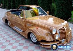 Inovasi Unik Mobil dari Kayu yang Bikin Kamu Kepincut